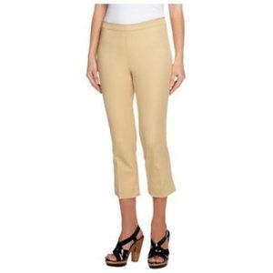 Isaac Mizrahi  24/7 Stretch Pull-On Crop Pants 677